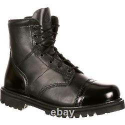 Rocky 2091 Side Zip 7 Polishable Military Duty Tactical Combat Jump Boots