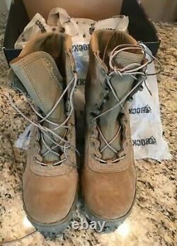 Rocky Men's RKC050 S2V Tactical Military Boot Coyote Brown 10.5M Army USA Made