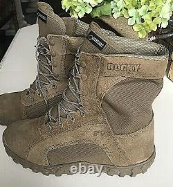Rocky S2V Special Ops Tactical Military Boot 12 W Wide Coyote Brown Goretex NEW