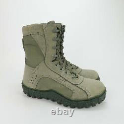 Rocky S2V Special Ops Tactical Military Boot Sage Green Mens 6108 Size 8.5 M