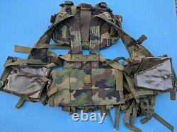 SERBIA Military Army M03 Woodland M99P1 Sniper M76 Combat Tactical Vest size L