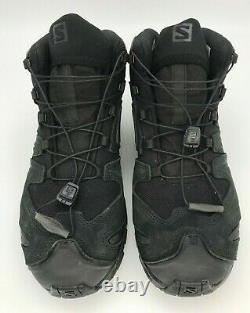 Salomon Unisex XA Forces MID EN Military and Tactical Boot, Black/ 8.5 Men/ 9.5 W