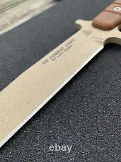 TOPS US Combat Knife EXCLUSIVE COLOR 1 Of 1 MADE- 2 SHEATHS