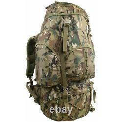 Tactical Combat New Forces Backpack Waterproof Pro-Force Rucksack 66L Hmtc Camo