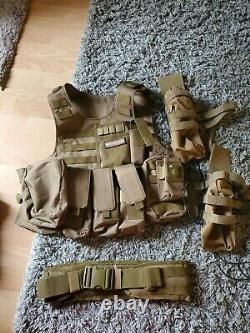 Tactical Military SWAT Airsoft Molle Combat Assault Plate Carrier Vest Gear US