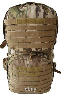 Tactical Multicam Military Combat Backpack 45L MOLLE 900D UTX Buckles Army