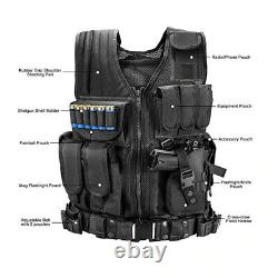 Tactical Vest Military Combat Army Armor Vests Molle Airsoft Plate Carrier
