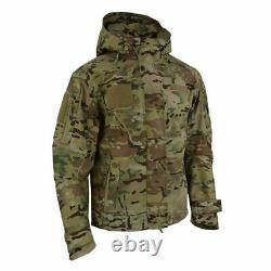 Texar Jacket Tactical Combat Army Hooded Conger Mens MC Camo
