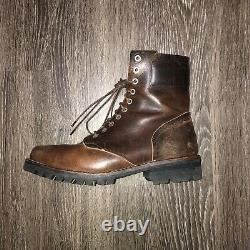 Timberland Tackhead 2011 Leather Boots Tactical Military Boots Size 9