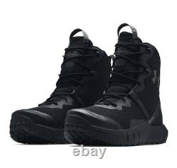 Under Armour UA VALSETZ Micro G Men's 8-in Black Lace Military Tactical Boots