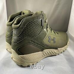 Under Armour UA Valsetz RTS 1.5 Tactical Boots Waterproof 9.5 Green 3022854-300