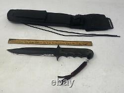 WILSON COMBAT WILSON TACTICAL Military Grade Custom Knife W Sheath Black Blade