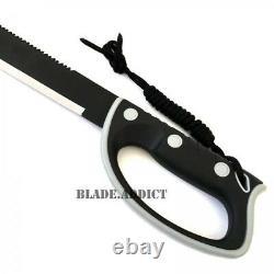 24 Jungle Machete Hunting Knife Militaire Survival Tactique Sword Ninja Zombie