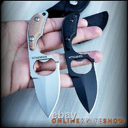 2pc Fixed Blade Tactical Hunting Survival Boot Knife Ouvrir La Bouteille De L'armée Militaire
