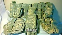 Acu Tactique Militaire Camo Molle II Vest. 9 Pouches