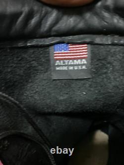 Altama 7850 Bottes Militaires Tactiques De Combat En Cuir D'hommes Taille 10w Noir