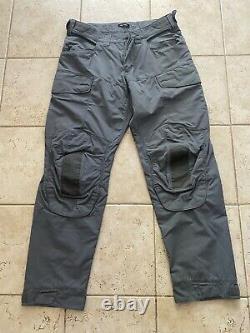Arcteryx Assault Ar Pantalons De Combat X-large Wolf Gris Tactical Military Crye