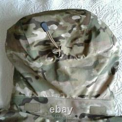 Arcteryx Mens Jacket Gryphon Multicam Halfshell Leaf Tactical Combat 1/4 Zip