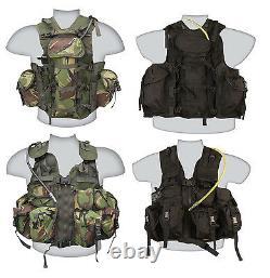 Armée Britannique Us Special Forces Tactical Combat Assault Vest Black Dpm