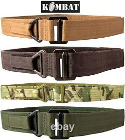 Army Combat Military British Webbing Waist Tactical Rigger Utilitaire Molle Belt