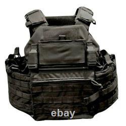 Assault Combat Tactical Military Vest Molle Réglable Gunner Plate Carrier États-unis