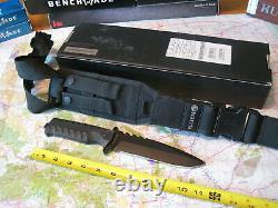 Beretta Tkx 120 Couteau De Combat Tactique Fixe Grey Fx C043 Fox W Gaine Italie Nib