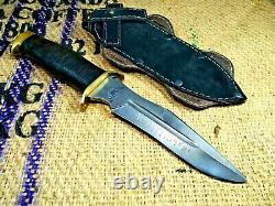 Couteau De Combat Anti-terror Dagger Militaire Tactical Survival Hunting Parachutiste