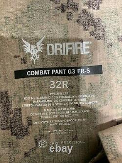 Crye Precision G3 Drifire Aor2 Pantalon De Combat 32reg Tactical Military Seal Devgru
