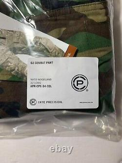 Crye Precision G3 M81 Woodland Combat Pants 32 Long Tactical Military
