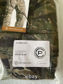 Crye Precision G3 Tiger Stripe Pantalon De Combat Tactique Militaire 34r