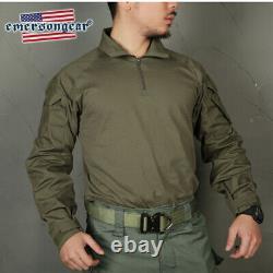 Emerson Ranger Green G3 Combat Tactical Shirt Pants Set Men Bdu Military Uniform