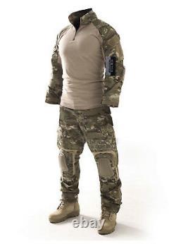 Gen3 Uniforme Tactique Hommes Chemise Militaire Et Pantalons Avec Pâtés De Knee Elbow