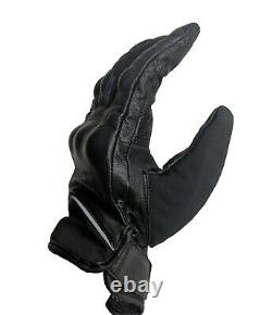Hommes Militaires Real-leather Tactical Combat Gloves Protection Police Army Security