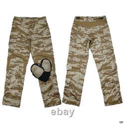 Hommes Tactiques G3 Pantalon De Combat Militaire Airsoft Pantalons + Knee Pads Tmc2901-sst