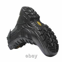 Mens Tactical Safety Steel Toe Cap Work Security Military Combat Shoe Boots Taille