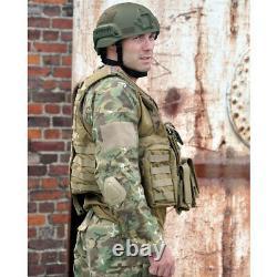 Mil-tec M. De Presse Molle Réel Battlefield Pouches Veste De Combat Tactique Militaire