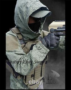 Night Desert Military Training Tactique Veste À Manches Longues Manteau Hoodie De Combat