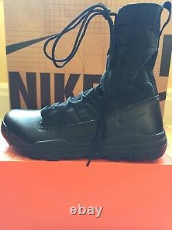 Nike Air Sfb Gen 2 8 Bottes Tactiques De Combat Militaire Black Sz 10,5