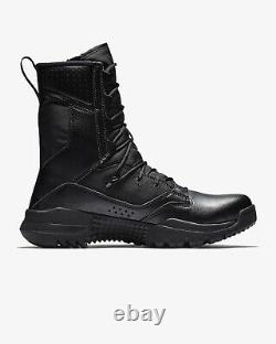 Nike Bottes Special Field Sfb Tactical Military Combat Noir Ao7507-001 Hommes 10