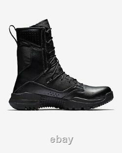 Nike Sfb Field 2 8 Bottes Tactiques, 10 Hommes, Militaire/combat Noir, Ao7507-001