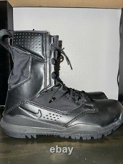 Nike Sfb Field 2 8 Bottes Tactiques De Combat Militaire Noir Ao7507-001 Sz 10