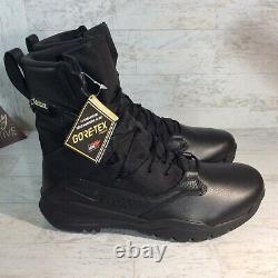 Nike Sfb Field 2 8 Bottes Tactiques Militaires Gore-tex Noir Aq1199-001 Hommes 11.5