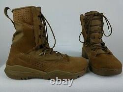 Nike Sfb Field 2 8 Bottes Tactiques Taille 11 Coyote Homme En Cuir Brun Aq1202-900