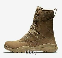 Nike Sfb Field 2 8 Cuir Tactique Boot Sz 9 Combat Militaire Aq1202-900