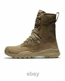 Nike Sfb Field 2 8 Cuir Tactique Homme Taille 11 Coyote Combat Boot Aq1202-900