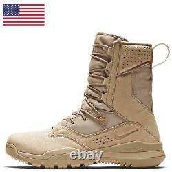 Nike Sfb Field 2 8 Leather Tactical Combat Boots Royaume-uni 8 Eu 42,5 Us 9 Ao7507-200
