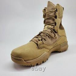 Nike Sfb Field 2 Hommes 8 Randonnée Tactique Bottes De Combat Militaires Sz 11 Désert Nouveau