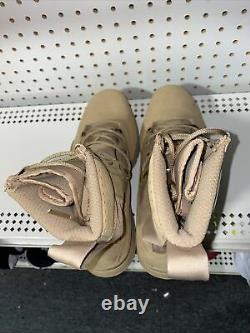 Nike Sfb Field 2 Hommes 8 Tactique Randonnée Militaire Bottes D'infanterie Taille 9 Désert