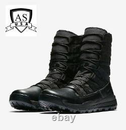 Nike Sfb Gen 2 8 Taille Homme 10,5 Bottes Tactiques De Combat Militaire Noir 922474-001