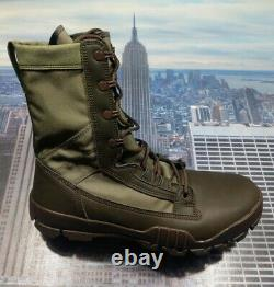Nike Sfb Jungle 8 Field Boot Combat Tactical Military Brown Taille 10 631372 222